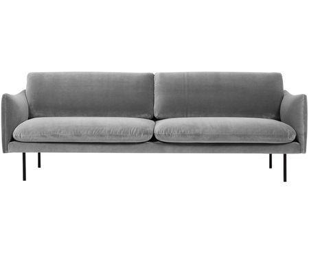Samt Sofa Moby 3 Sitzer Samt Sofa Westwing Sofa Sofa