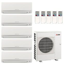 Ductless Heating And Cooling For Residential And Commercial Use Ductless Heat Pump Ductless Heating Air Conditioner Installation