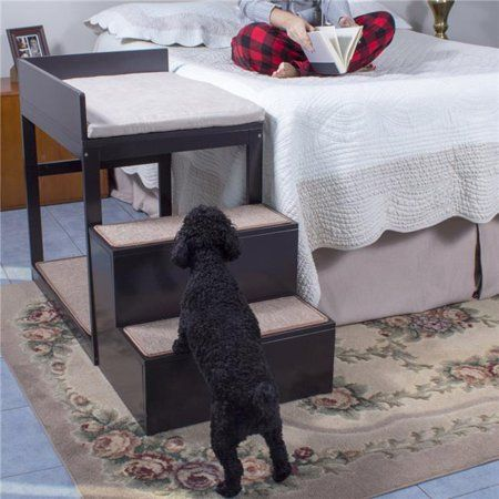 Penn Plax Multi Level Pet Dog Stairs Multicolor Walmart Com In 2021 Cool Dog Beds Dog Stairs Pet Stairs