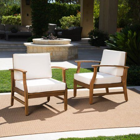 Patio Garden Wood Chairs