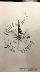 100+ Awesome Compass Tattoo Ideas 100+ Awesome Compass Tattoo Ideas,Tattoo ideas 100+ Awesome Compass Tattoo Ideas – TheTellMeWhy