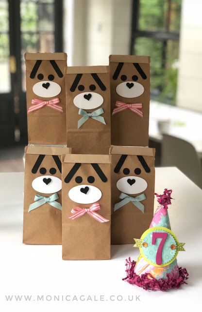 Dogs Birthday Party Ideas Bags