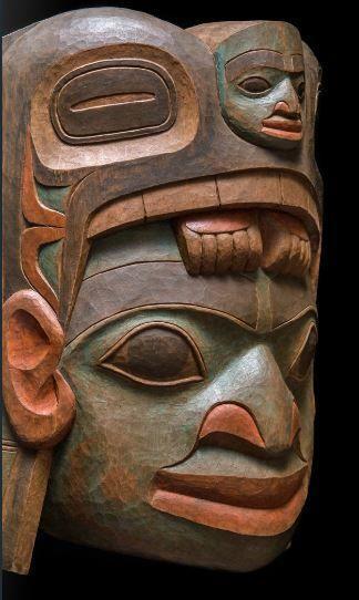 North West Coast Mask Native American Art Pacific Northwest Art Native American Art Native American Masks
