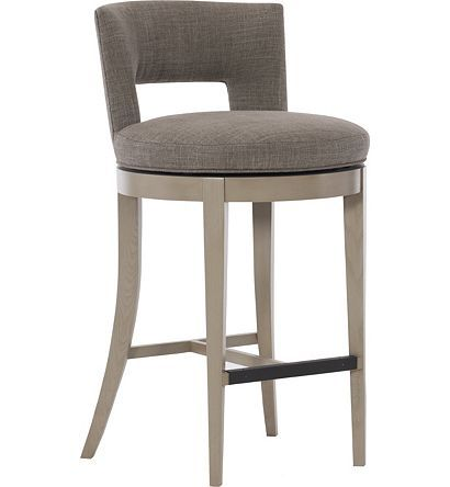 Axis Swivel Bar Stool From The Ray Booth Collection By Hickory