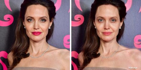 Here's What Celebs Look Like Without Makeup According To The