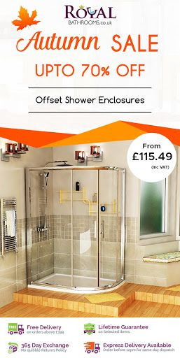 Best Deal For Autumn Season Up To 70 Off Royal Bathrooms Offers