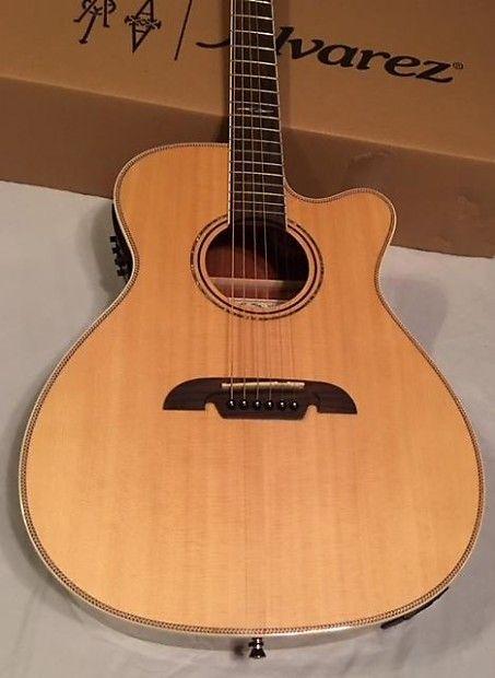 Alvarez Afh600ce Artist Herringbone Series Folk Om Acoustic Electric Guitar Jam City Music Reverb Acoustic Electric Guitar Guitar Acoustic