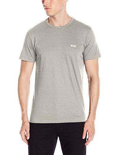 BOSS Green Mens Modern Fit Basic Single Jersey T-Shirt