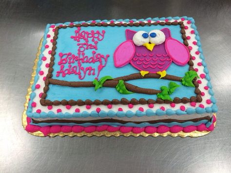 Whooo loves and Owl Cake? by Stephanie Dillon, LS1 Hy-Vee