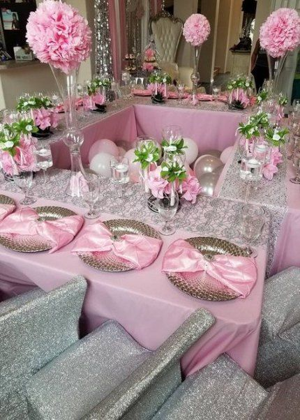 54 New Ideas Diy Wedding Centerpieces Pink Silver Wedding