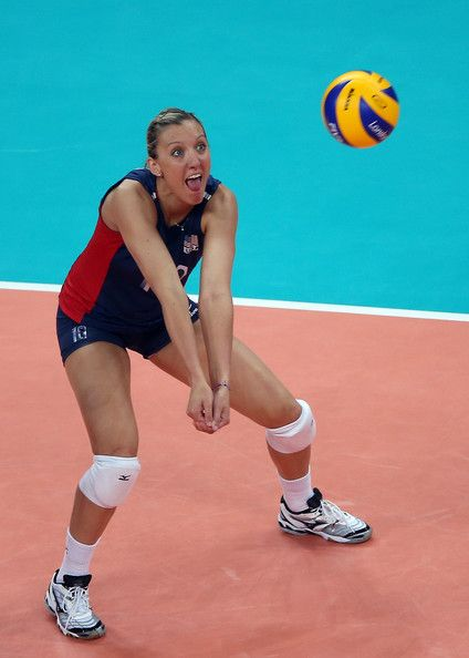 Jordan Larson Photos Photos Olympics Day 11 Volleyball Female Volleyball Players Usa Volleyball Women Volleyball