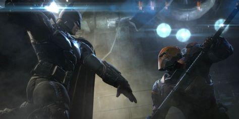Batman vs Deathstroke: Batman: Arkham Origins. A proposito de que hace unos días Ben Affleck encendio los rumores sobre la posible participación de Deathstroke en alguna de las próximas cintas de DC Comics, en algunos portales se volvió a difundir un video de... #batman #dccomics #deathstroke