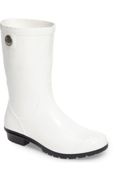 Ugg White Rain Boots | White rain boots