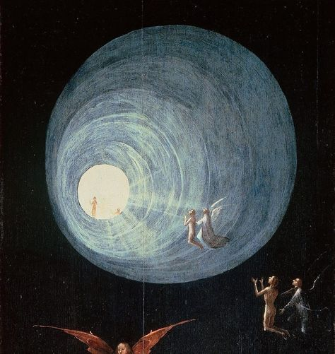 """Nyctalope on Instagram: """"Ascent of the Blessed, Hieronymus Bosch, between 1505 and 1515. #tarot #tarotcards #tarotreading #tarotreadersofinstagram #antique #art…"""""""