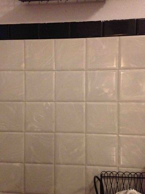 Square Tile In My Bathroom And Kitchen