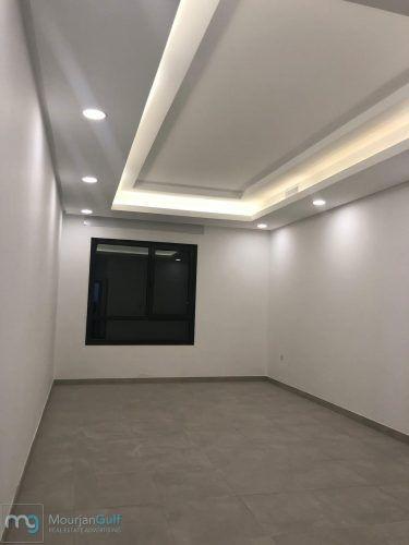 للأجار في الجابرية شقق مميزة جديدة موقع مميز تتكون كل شقة من ٥ غرف و ٥ حمامات توزيع الغرف غرفتين منهم ماستر و غرفت Bathroom Lighting Bathroom Mirror Mirror