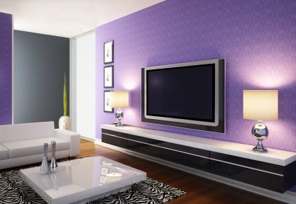 Modern Apartments: Modern Purple Living | Apartments, Modern And Decor  Interior Design