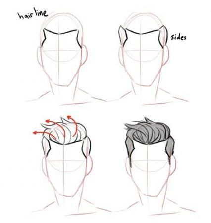 Drawing Reference Male Hair 64 Ideas Drawing Hair Ideas Male Reference In 2020 Drawing Hair Tutorial How To Draw Hair Guy Drawing