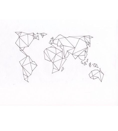 Origami world map ink inspo tattoo inspiration tattoos origami world map ink inspo tattoo inspiration tattoos pinterest tattoo gumiabroncs Gallery