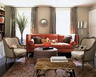 Burnt Orange Sofa Living Room Ideas Ayathebookcom