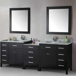 Images Of Bathroom Vanities With Two Sinks With Images Oak