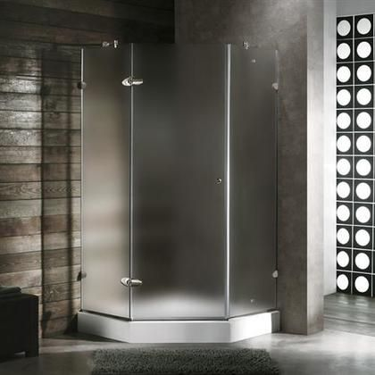 Vg6061bncl38 38 X 38 Shower Enclosure With Frameless Neo Angle