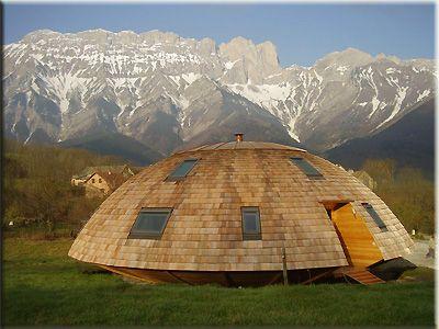 Domespace Une Maison En Bois Qui Tourne Avec Le Soleil