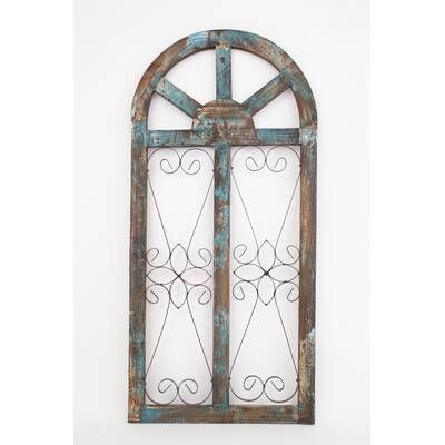 Spanish Large Architectural Window Wall Decor With Images Fish