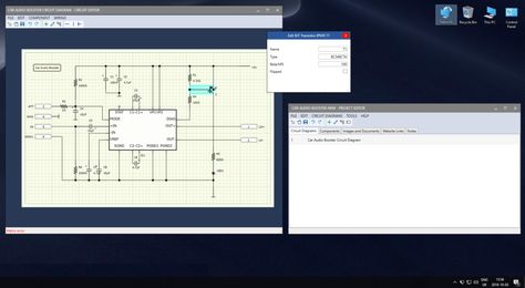 Electronic Project Editor