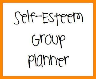 Self-Esteem Group Session Planner Printable