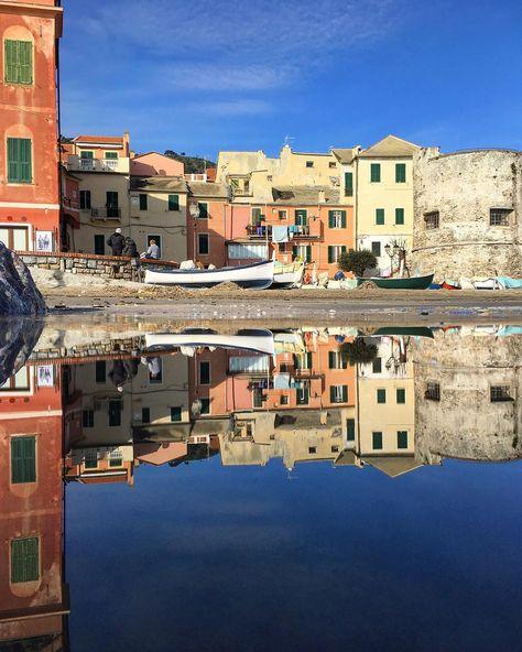 Laigueglia... riflessi, Liguria. #laigueglia #liguria #italia #italy #ig_liguria #myliguria #ig_italia #perlestradedellaliguria…