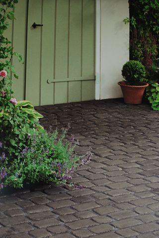 Marshalls cobbletech Iron Grey patio paving driveway