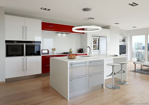 Omega Kitchen  Vogue New England Oak  Fabulous Fitted Kitchens