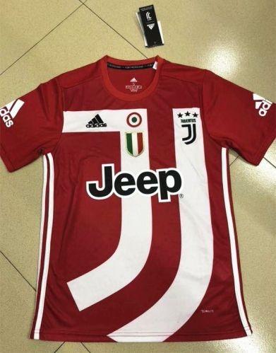buy online 5da12 56612 2018-19 Juventus Commemorative Edition Red Thailand Soccer ...