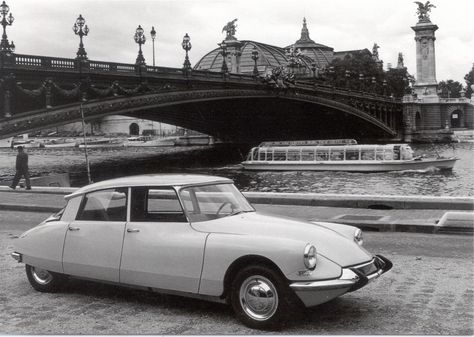 My ultimate car since childhood. The Citroen DS,1955.