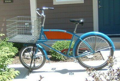 Schwinn Cycle Truck Delivery Bicycle 1950 Skip Tooth Wonderful Condition In 2020 Bicycle Schwinn Bicycle Design