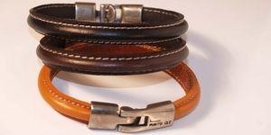 bracelet cuir punto