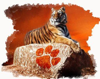 Hunter Renfrow Clemson Tigers Unstoppable Art Etsy In 2020 Clemson Tigers Wallpaper Clemson Clemson Tigers Football