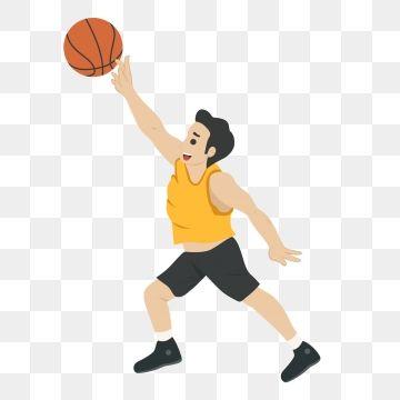Basketball Player Athlete Cartoon Cartoon Basketball Man Playing Basketball Cartoon Man Cute Man Shooting S Basketball Plays Basketball Game Outfit Cartoon Man