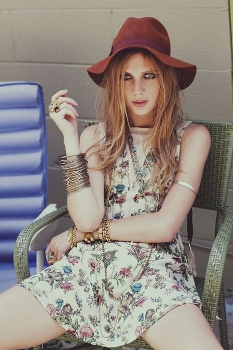 Day Tripper | Anna Iaryn | Zoey Grossman #photography | For Love & Lemons Spring 2012 Lookbook | #bohemian #boho #hippie #gypsy