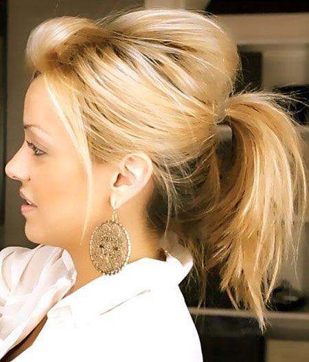 13 Susse Pferdeschwanz Frisuren Fur Kurzes Haar Einfache Alltagsfrisuren Mittellange Haare Frisuren Einfach Einfache Frisuren Alltag