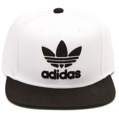competitive price f10cf 230b8 adidas Trefoil Chain Snapback Cap ❤ liked on Polyvore featuring accessories,  hats, adidas cap, snapback hats, snap back cap, embroidery hats and adidas  ...