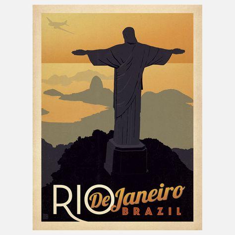 Fab.com   Rio De Janeiro Print
