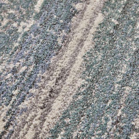 Tapis Effet Use Vintage 160x230cm Vert Et Blanc Alinea En 2020 Tapis Tapis Salon Et Grands Tapis