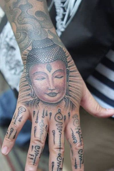 25 Cool Hand Tattoos For Those Who Love Ink In 2020 Tribal Hand Tattoos Bhuddist Tattoos Hand Tattoos