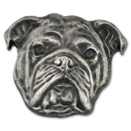 English Bulldog Pin Dog Lovers Dog Breeds Dogs