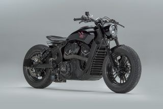 Road Runner Custom Indian Scout Sixty By Motoshed Indian