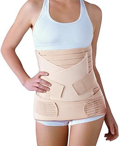 Buy Leewin 3 1 Postpartum Belt After Birth Belly Wrap Band Recovery Belly Waist Pelvis Support C Section Postnatal Girdle Shapewear Yellow Online Totoppremiu In 2020 Girdles Shapewear Belly Wrap Baseball Tees For Women