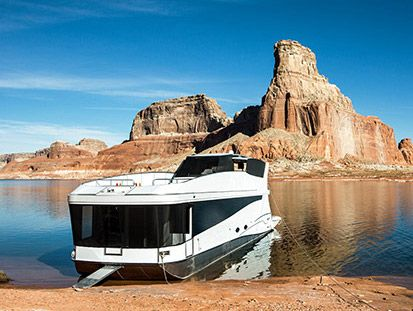 Axiom Star Lake Yacht At Lake Powell Utah Arizona