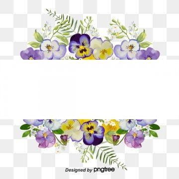 Pansy Flower Corner Border Clip Art Pin By Masri Awang On Border N Frame Pinterest Pansies Frames And Printable Frames Flower Frame Clip Art Borders